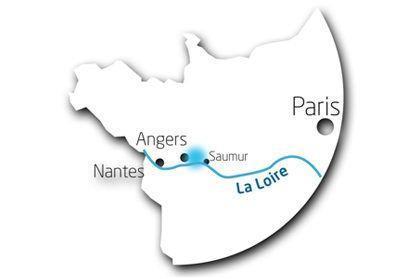 Situation de Loire-Authion dans le Grand Ouest