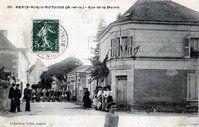 Rue de la mairie en 1900