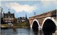 Le pont Caroline en 1950